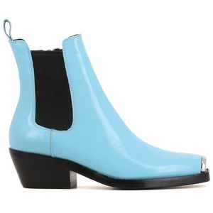 RARE Jeffrey Campbell Chelsea? Baby Blue Boots